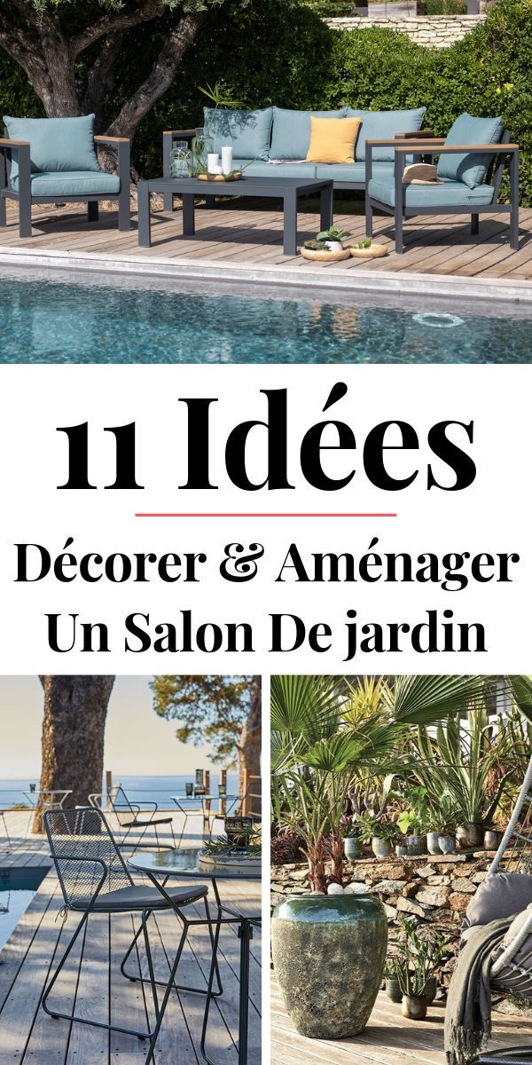 Salon De Jardin Alinea 11 Idees Tendance Pour L Ete 2019