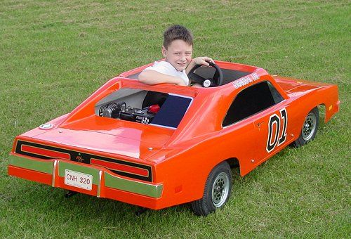 General Lee. Most kids now a days wouldn't know how cool this car was and is. But I know alot of people who would of done anything for one of these when they were kids.