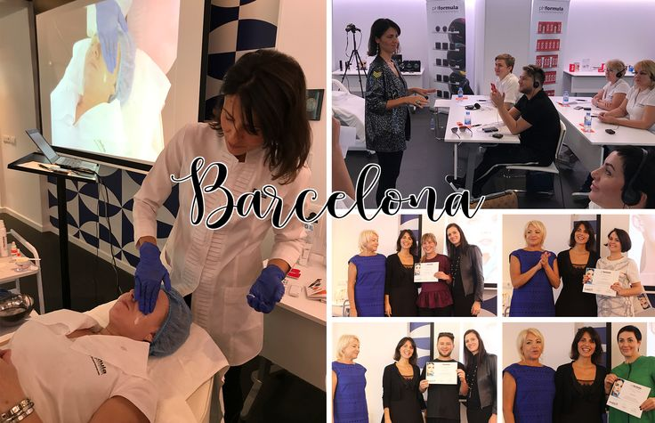 What a great week with the pHformula skin specialists from Russia visiting us this week for an Advanced Skin Resurfacing Workshop in Barcelona! #Russia #Barcelona #skinresurfacing #skinspecialists #skincare