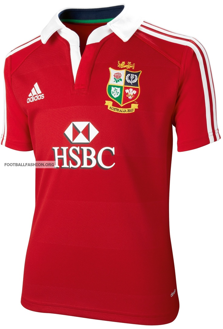 British and Irish Lions 125th Anniversary Tour adidas Jersey