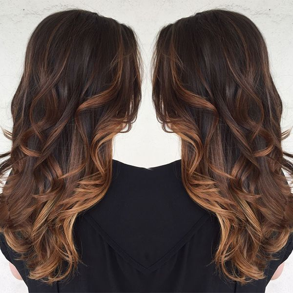Caramel ombre hair color idea, you should not miss it for this season