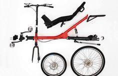 The MirageBikes Nomad :: Shaft drive recumbent bike