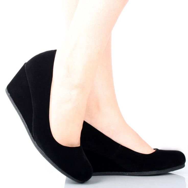 Mid Wedge Heels