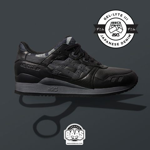 "#asics #gellyte #gellyteiii #japanisedenim #denim #sneakerbaas #baasbovenbaas  Asics Gel-Lyte III ""Japanese Denim"" - Now available online, priced at € 139,95  For more info about your order please send an e-mail to webshop #sneakerbaas.com!"