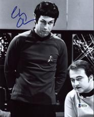Chevy Chase Saturday Night Live Signed 8X10 Photo BAS Witnessed B81230