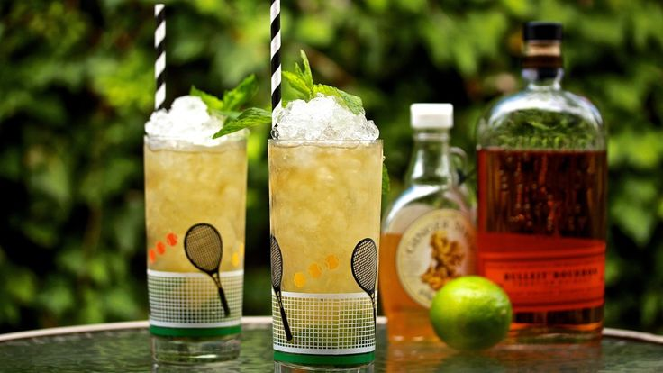 "GINGER-MINT MUDDLE: Anyone who lives in Melbourne knows that the Australian Open is one of the largest sporting events to happen in Australia. sit back and enjoy a match of tennis with the ""Mint Condition"" cocktail. Mixed with Bourbon, Ginger syrup, Lime and Mint. Recipe on the blog."