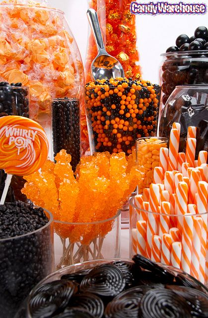 CANDY~Halloween Candy Buffet