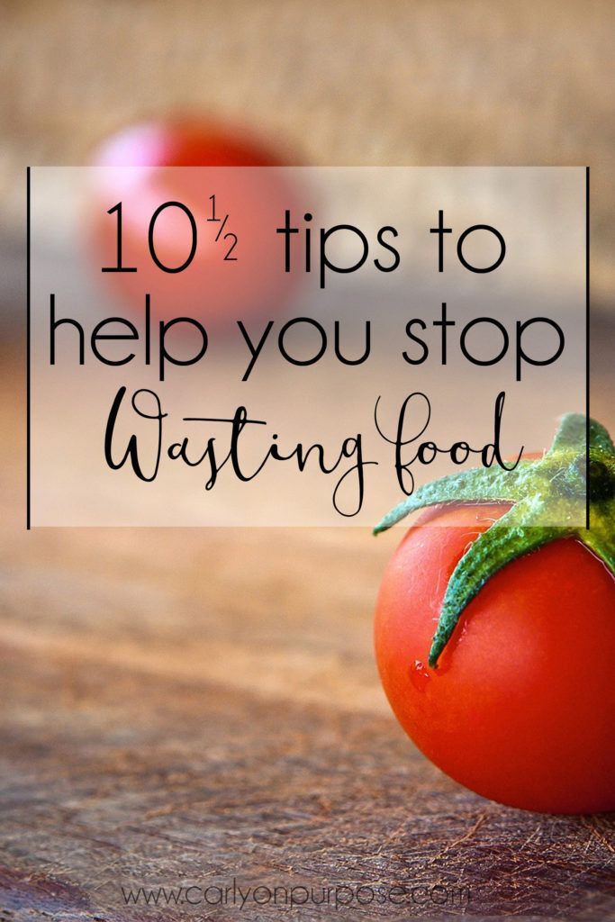 Are you a food waster? I used to be the worst... here's how I ended that terrible habit and started saving money on food in the process.
