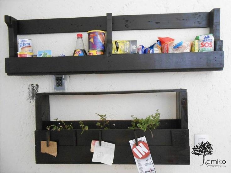 Repisas Para Cocina Y Especiero Org Nico Cool Green By