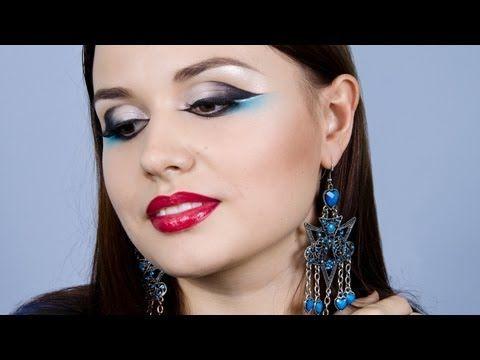 Альтернативный арабский макияж