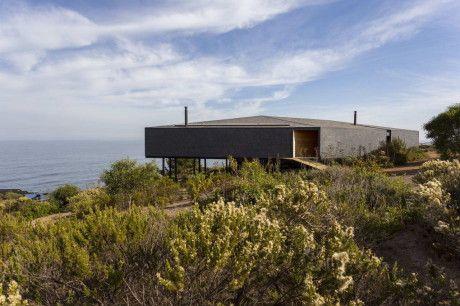 Дом у океана в Чили