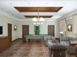 Salas multimedia de estilo clásico por Симуков Святослав частный дизайнер интерьера