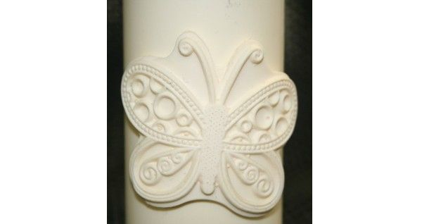 Butterfly Fondant Candle Mold - Most designs are held in stock. Should you require a mold that is out of stock, we can pour a fresh one in less than 24 hours. If you require multiples of one design, we will tell you at the time of order the exact day your molds will be posted.