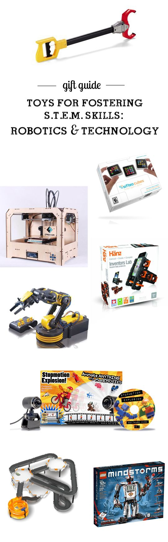 MPMK Toy Gift Guide: Best STEM Toys (Science, Technology, Engineering & Math): Best Robotics Toys and Best Tech Toys - great detailed toy descriptions and suggested ages here.