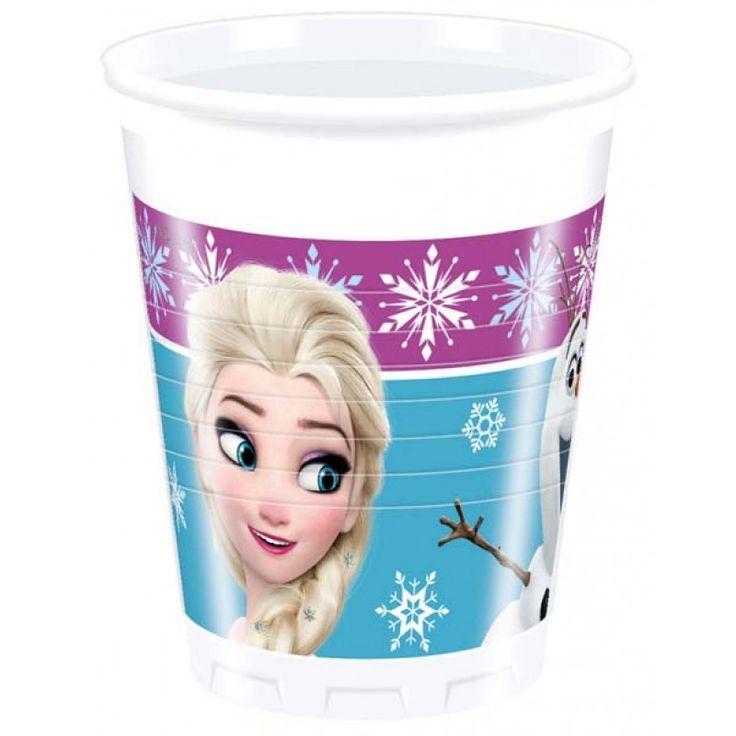 Disney Frozen Bekers Lights - 8 stuks.