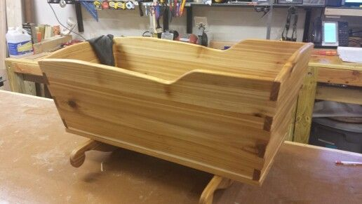 Shaker Baby Cradle Plans Woodworking Projects Amp Plans