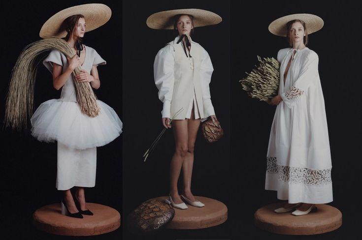 Вдохновение:  летний гардероб во французском стиле в коллекции Jacquemus весна-лето 2017 #мода #стиль #минимализм #французскийстиль #касульныйгардероб #высокаямода #модныетренды #minimalism #frenchstyle #Jacquemus #summerwardrobe #wearnissage