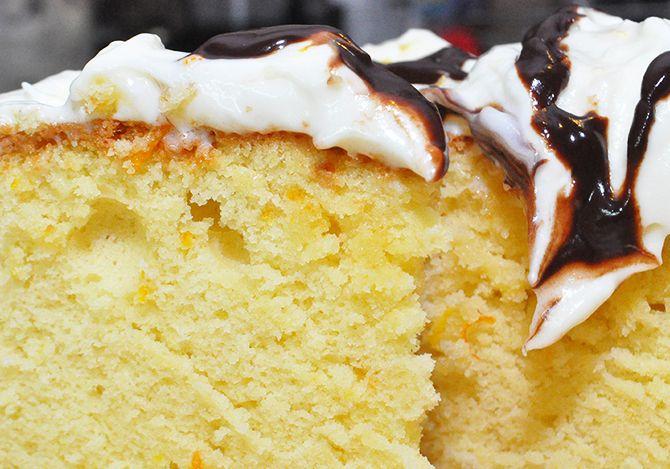 Κέικ βασιλόπιτα σοκ
