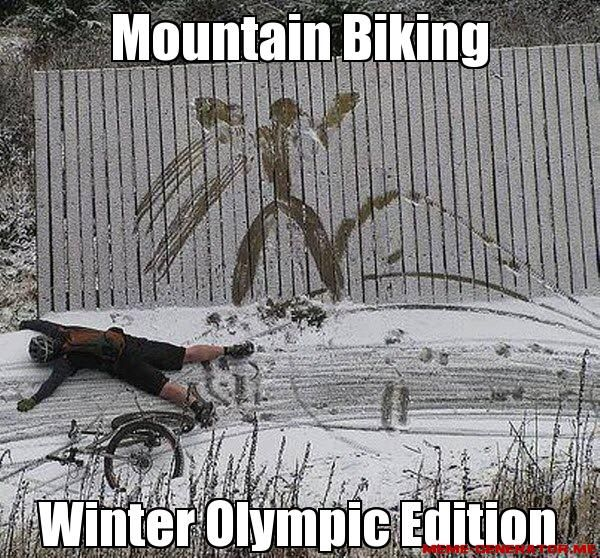 Mountain Biking Winter Olympic Edition