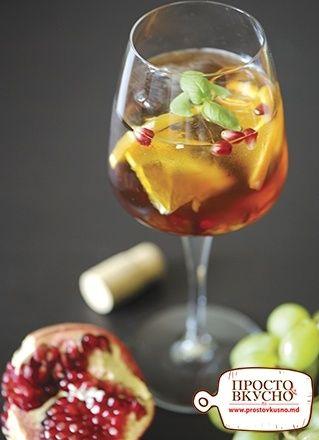 Просто&Вкусно - Напитки - Летняя сангрия
