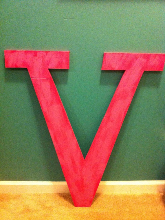 9 best v images on pinterest alphabet letters letters for 3 foot tall letters