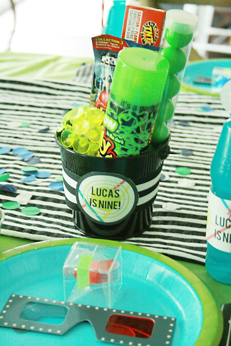 Laser Tag Birthday Party - Darling Darleen | A Lifestyle Design Blog