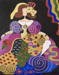 fun inspiration for quilt... MENINA 2