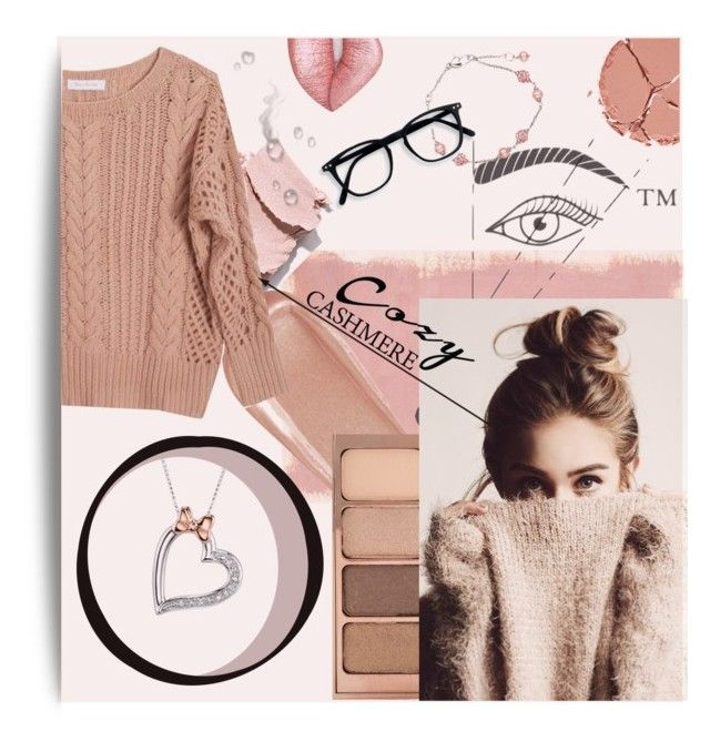 Pink cashmere by kmcg3 on Polyvore featuring Ryan Roche, Disney, Honora, Stila, NARS Cosmetics, Charlotte Tilbury, Lime Crime, Rothko and cozychic