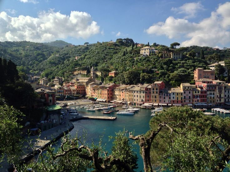 Portofino. There is an exact copy of this beautiful little town somewhere in the USA and in Japan...