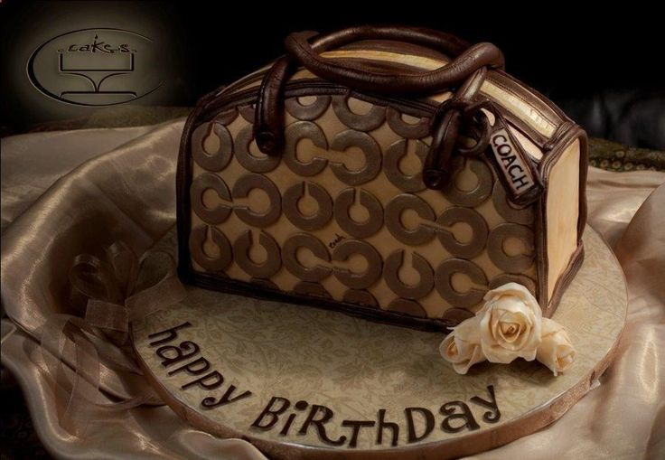 Coach Purse - Cake by Komel Crowley