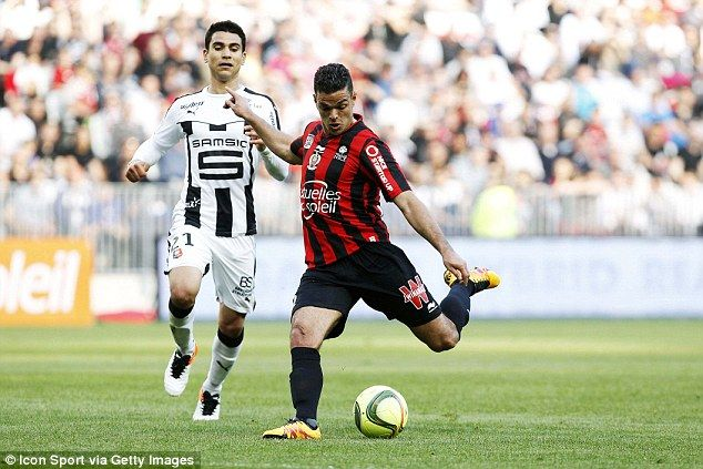 Hatem Ben Arfa says he is 'totally ready to play for a big European team' as Nice star is linked with Barcelona