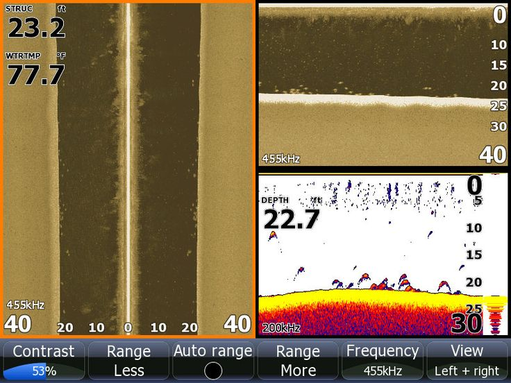 Understanding sonar side and down scan will improve your for How to read fish finder