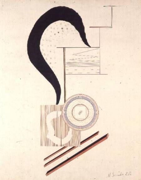 Mieczyslaw Szczuka / Constructivist Composition, 1925
