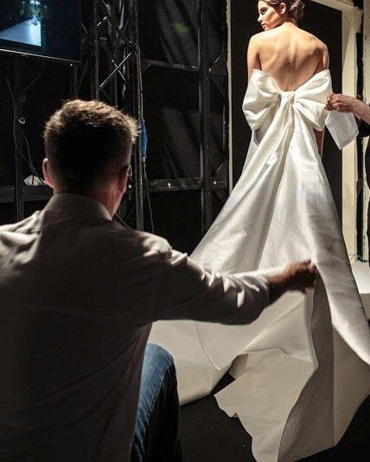 The WOW factor #GiuseppePapini #2018 #bridal #collection #bridalcollection #backstage #bride #wedding #weddingstyle #novia #matrimonio #casamento #weddinggown #weddingstyle #bridalfashion #bridetobe #novia #milan #bridalweek #bridalcouture #couture