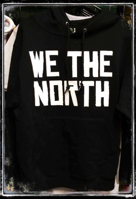 Now available at www.416shirtkings.com ! Get your We The North Hoodie !