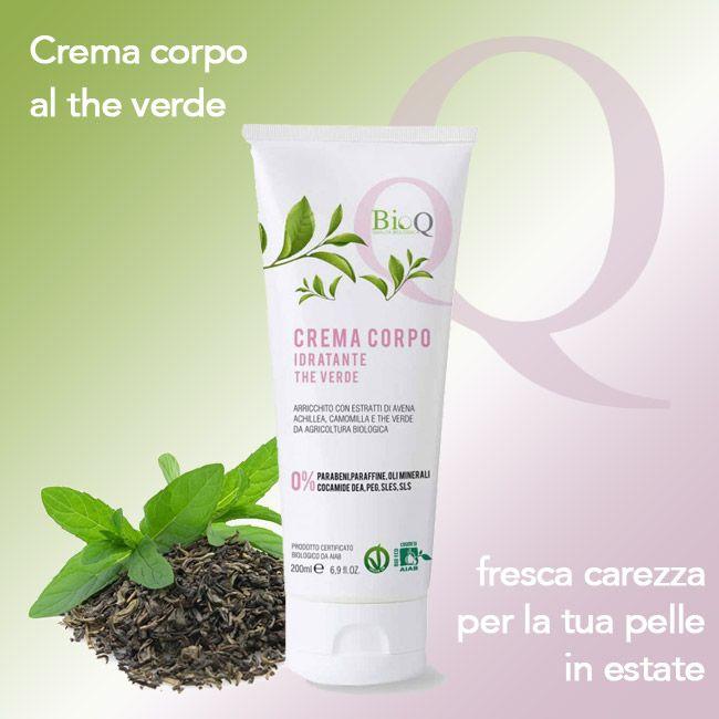 FRESCO E RIZZANTE THE' VERDE. ✿ ✿ #beauty #cremacorpo #madeinitaly wink emoticon