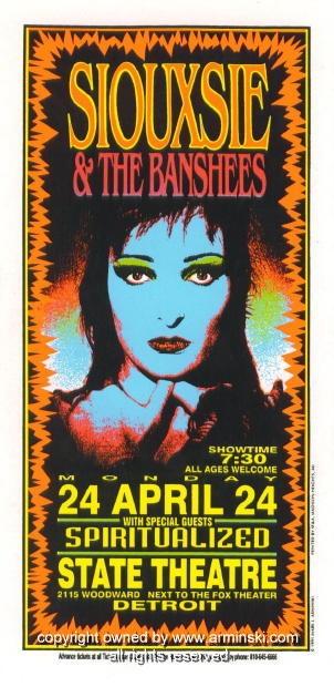 Siouxsie & The Banshees.