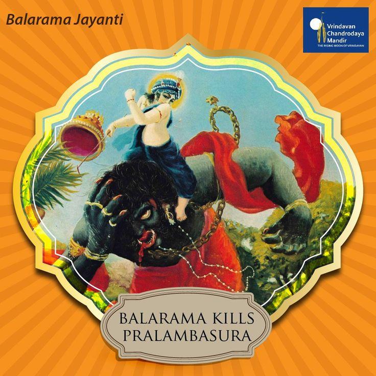 We @ChandrodayaVRN celebrates #BalaramaJayanti! Know about Lord Balarama