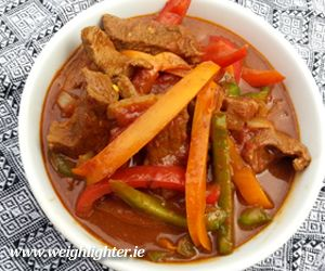 Beef Curry: 260 Kcals Per Serving