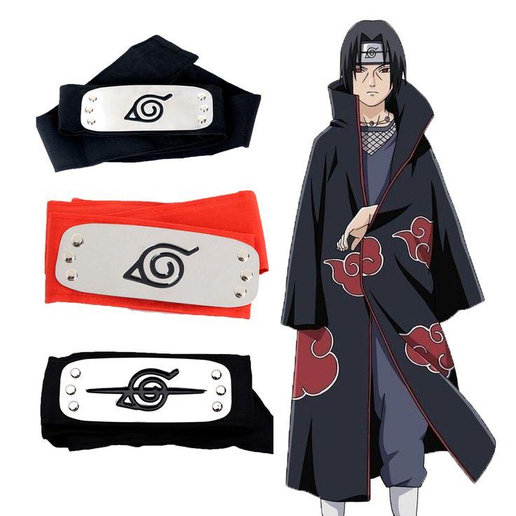 Free Shipping Naruto Forehead Fashionable Guard Headband Cartoon Cosplay Accessories for kits girls naruto headband