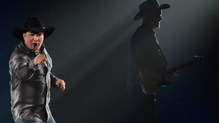 Garth Brooks tour,  I was there!!!!!!!!!!!!  :-)  Best Concert EVER!!!!!