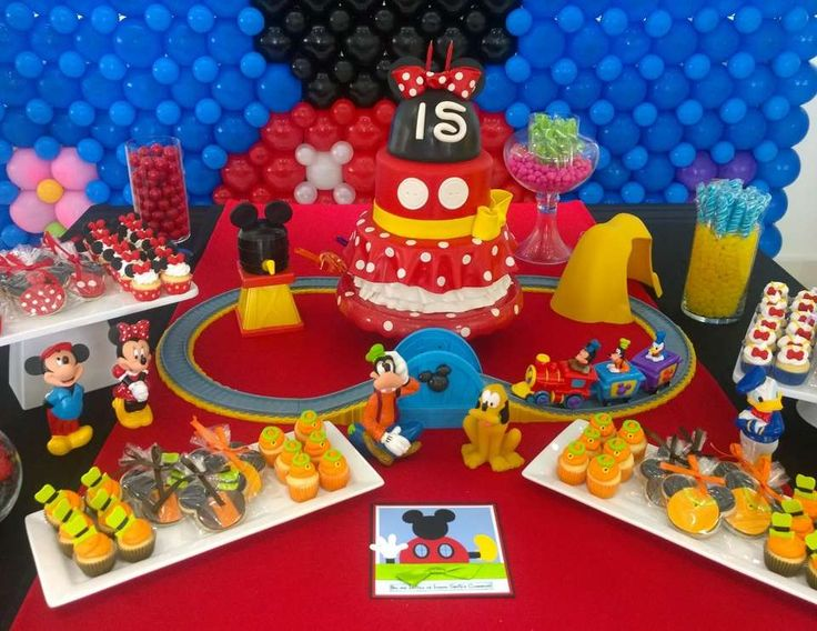"Mickey Mouse Club House / Birthday ""Ivanna Sofia Club House Party"" 