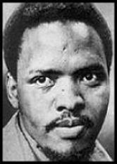 Steve Biko was one of South Africa's most significant political activists and a leading founder of South Africa's Black Consciousness Movement. His death in police detention in 1977 led to his being hailed as a martyr of the anti-Apartheid struggle. Date of birth: 18 December 1946, King William's Town, Eastern Cape, South Africa Date of death: 12 September 1977, Pretoria prison cell, South Africa