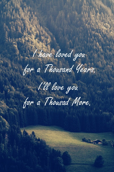Christina Perri... A Thousand Years