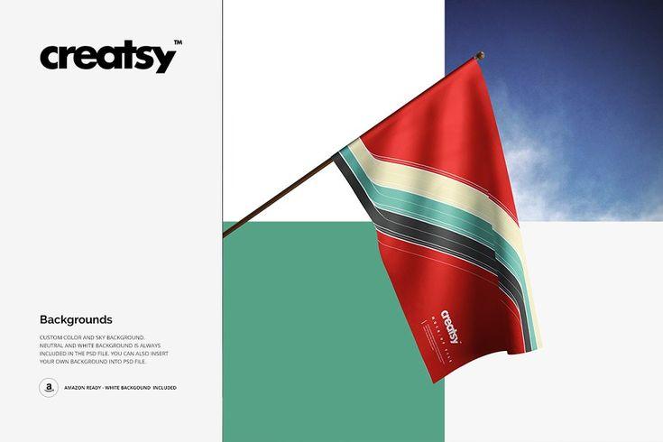House Flag Mockup Set Graphic Design Photoshop Graphic Design Tutorials Graphic Design Studios