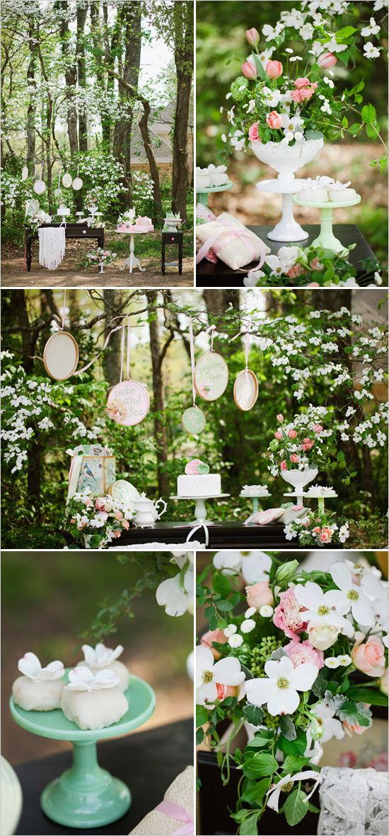 wedding desserts: Dessert Tables, Wedding Inspiration, Dogwood Wedding, Wedding Ideas, Wedding Desserts, Wedding Cakes, Colour Palette