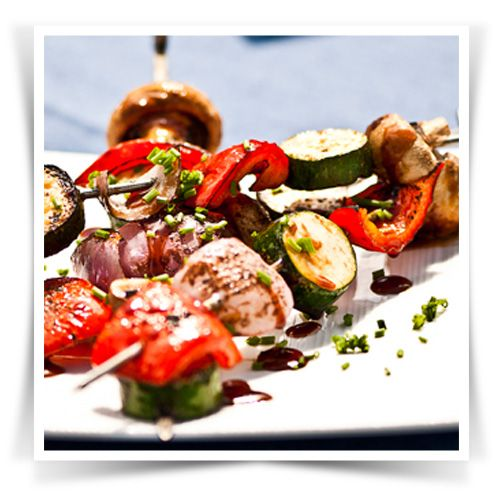 Tandoori Vegetable Skewers #Pataks #Grill #BBQ #Summer #Barbecue #Recipe #IndianFood #India #MixinaLittleIndia #MixinaLittleBBQ