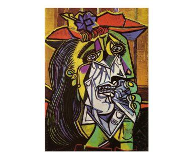 """Reprodukcja obrazu """"Płacząca kobieta"""", 50 x 70 cm"""
