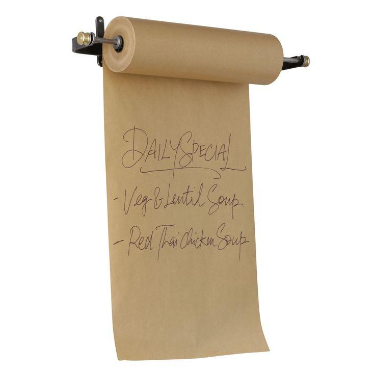 Paper Roll Menu Holder | Retail Display
