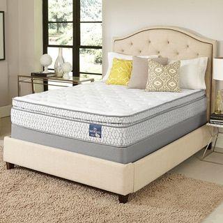 For Serta Amazement Pillowtop Queen Size Mattress Set Get Free Shipping At